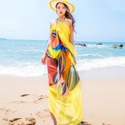 140x190cm Pareo Scarf Women Beach Cover Up