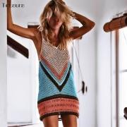 Premium Crochet Knitted Beach Bikini Swimsuit Cover Up