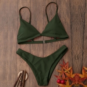 Women Push-Up Beach Bikini Set Swimsuit