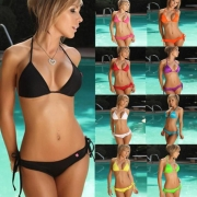 Women bikini 10 Color Set Push-up Bra Swimsuit